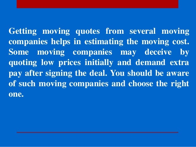 Moving Company Quotes >> Moving Quotes Honest Movers Affordable Moving Company You
