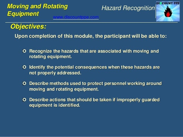 Moving & rotating equipment ppt