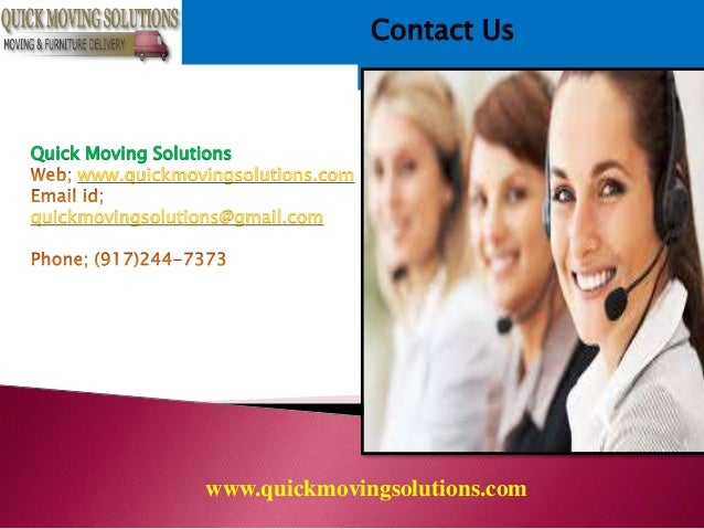 Moving & Storage in New York | Quick Moving Solutions