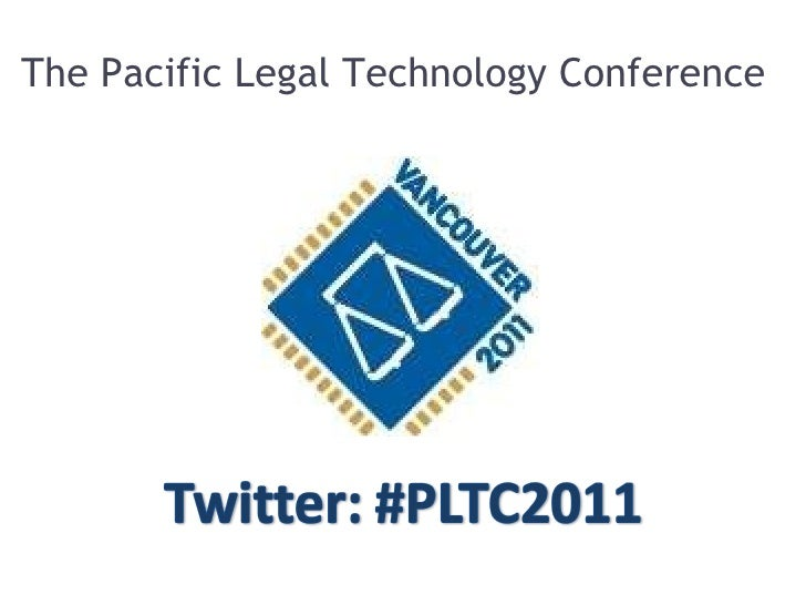 The Pacific Legal Technology Conference