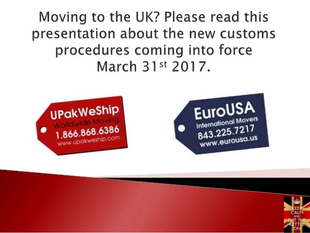  As everyone knows, we are now in an era of heightened security and stringent immigration rules.  UK customs have adopte...
