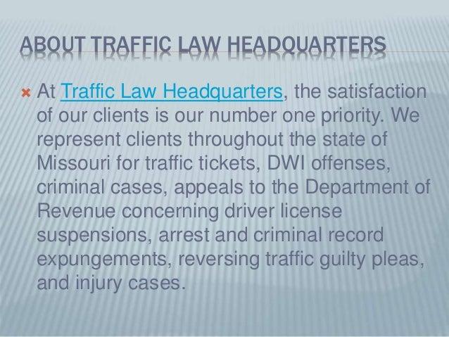 Moving vs  Non-Moving Traffic Violations