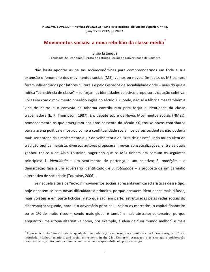 in ENSINO SUPERIOR – Revista do SNESup – Sindicato nacional do Ensino Superior, nº 43,                                    ...