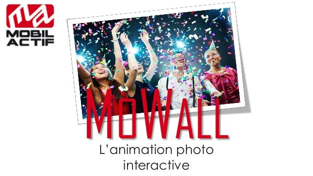 L'animation photo interactiveMOWALL