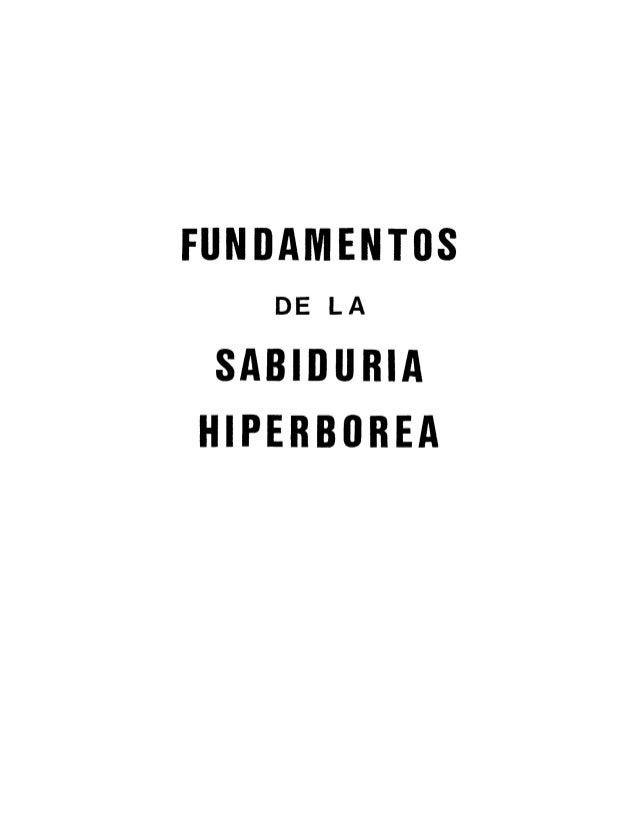 Moyano.fundamentos vol.1 de la sabiduria hiperborea volumen 1 uno (l)