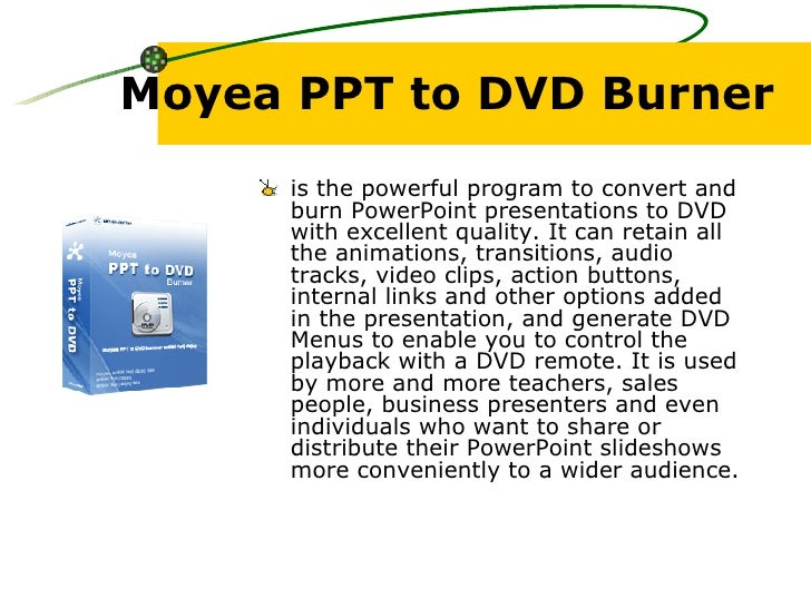 Moyea ppt to video