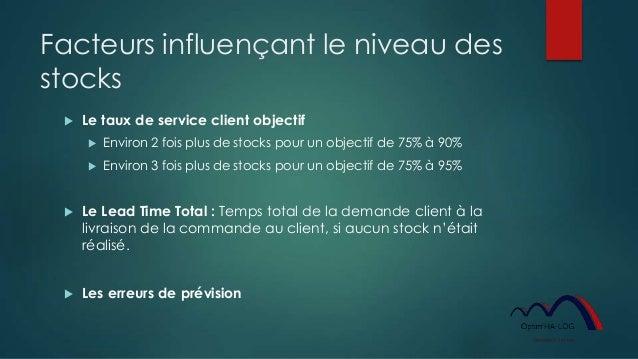 Optimiser les stocks et augmenter le service rendu au client Slide 2