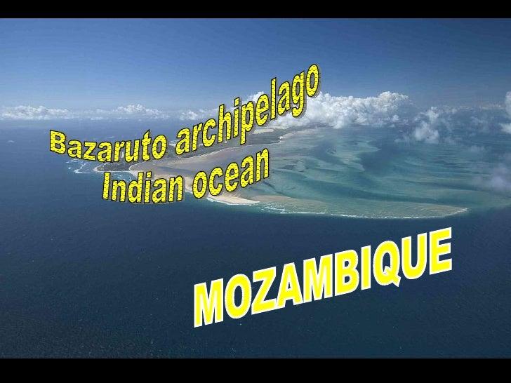 MOZAMBIQUE Bazaruto archipelago Indian ocean