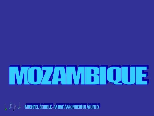 Maputo, capital de Mozambique