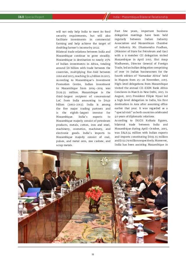 19 D&B Special Report India - Russia Bilateral RelationshipD&B Special ReportIndia - Mozambique Bilateral Relationship var...
