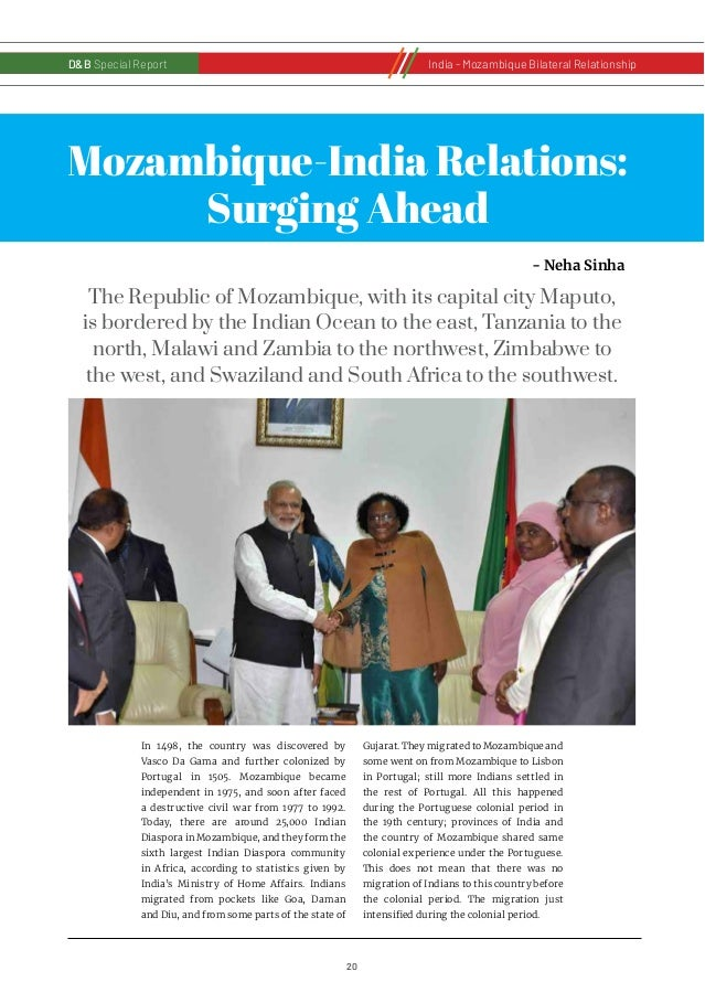 21 D&B Special Report India - Russia Bilateral RelationshipD&B Special ReportIndia - Mozambique Bilateral Relationship Ind...