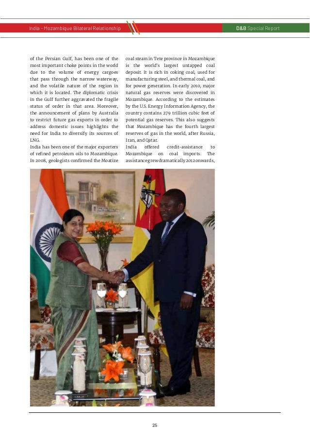 26 D&B Special Report India - Russia Bilateral RelationshipD&B Special Report India - Mozambique Bilateral Relationship an...