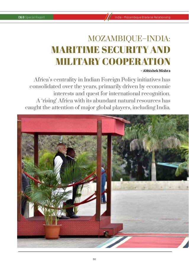 31 D&B Special Report India - Russia Bilateral RelationshipD&B Special ReportIndia - Mozambique Bilateral Relationship Afr...