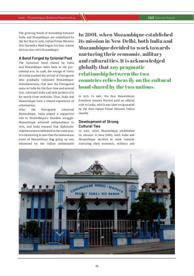 36 D&B Special Report India - Russia Bilateral RelationshipD&B Special Report India - Mozambique Bilateral Relationship cu...