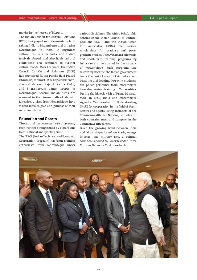 38 D&B Special Report India - Russia Bilateral RelationshipD&B Special Report India - Mozambique Bilateral Relationship Mo...