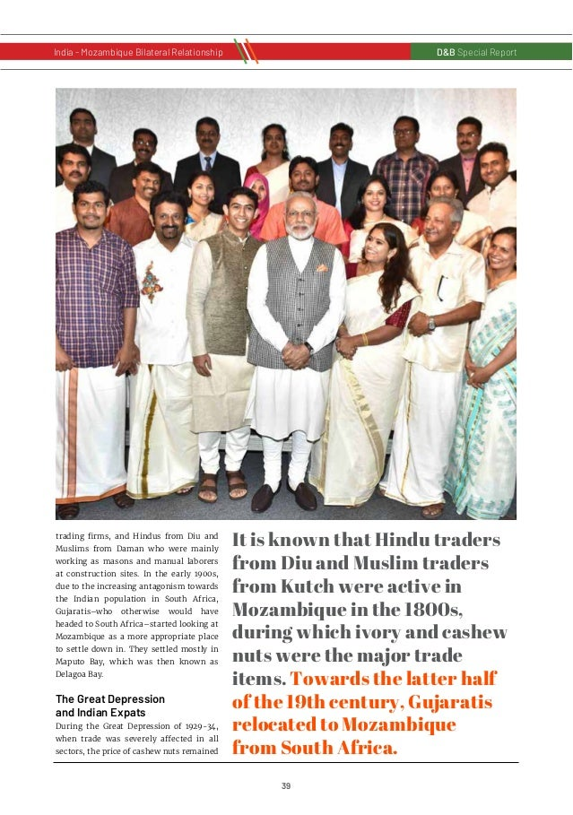 40 D&B Special Report India - Russia Bilateral RelationshipD&B Special Report India - Mozambique Bilateral Relationship st...