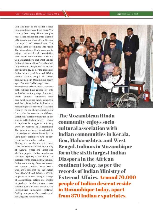 42 D&B Special Report India - Russia Bilateral RelationshipD&B Special Report India - Mozambique Bilateral Relationship