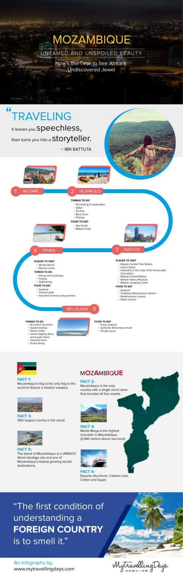 Mozambique Travel Experience and Tips