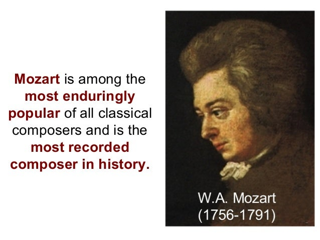 an introduction to the life of wolfgang amadeus mozart An introduction to mozart 27 january 2016  a life in brief 1756 wolfgang amadeus mozart is born on 27 january in salzburg,  wolfgang amadeus mozart.