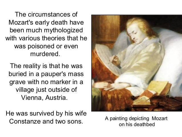 Image result for the death of wolfgang amadeus mozart