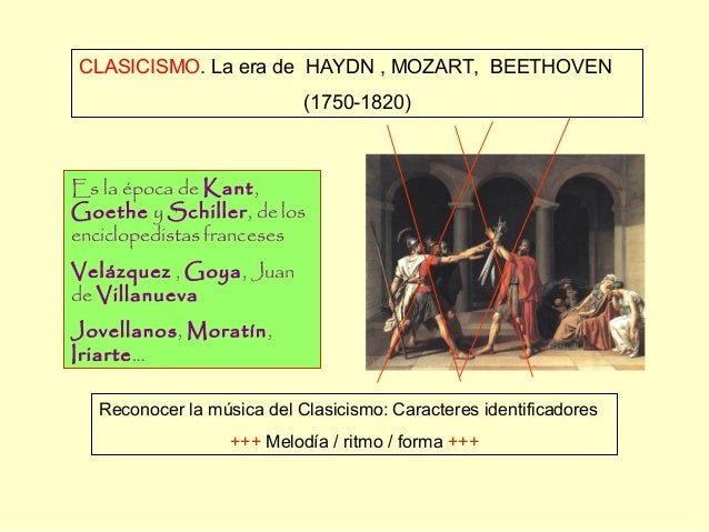 Clasicismo haydn mozart beethoven - Epoca del clasicismo ...