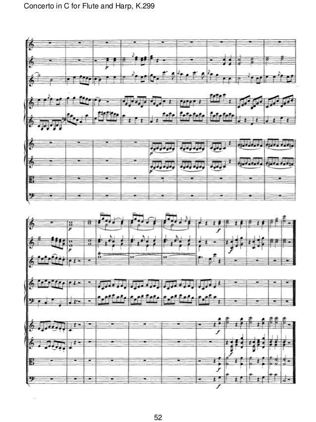 Mozart flute and harp concerto k 299