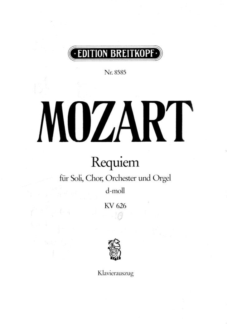Requiem pdf mozart