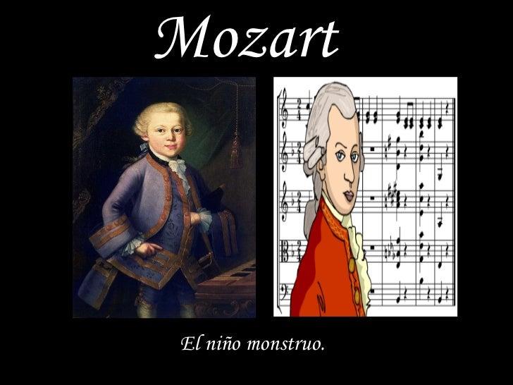 Mozart El niño  monstruo .