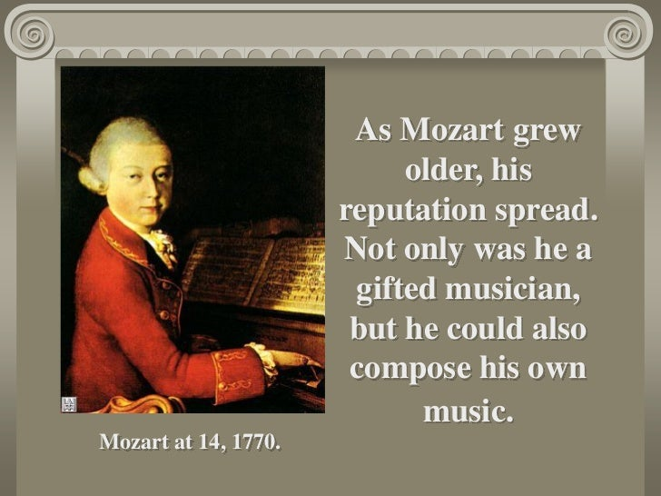 life of mozart essay Music and movies essays: life of mozart life of mozart this research paper life of mozart and other 63,000+ term papers, college essay examples and free essays are available now on reviewessayscom.