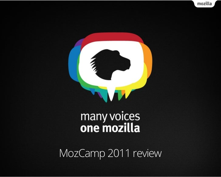 MozCamp 2011 review