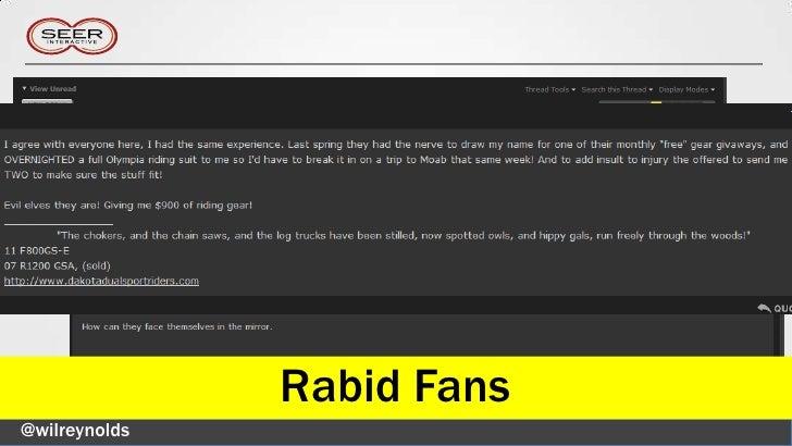 Rabid Fans@wilreynolds