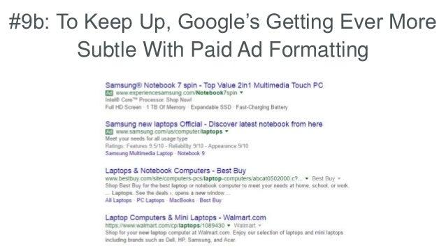 9b: To Keep Up, Google's