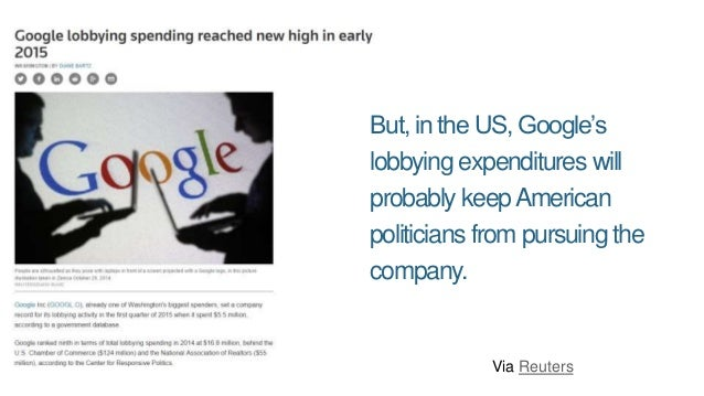 This, despite the FTC believing Google was guilty of some serious violations. Via WSJ