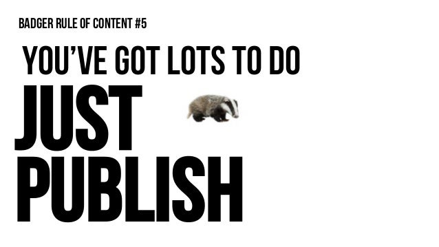 Webinar to ebook Badger rule of content #6C 350 leads??!!!