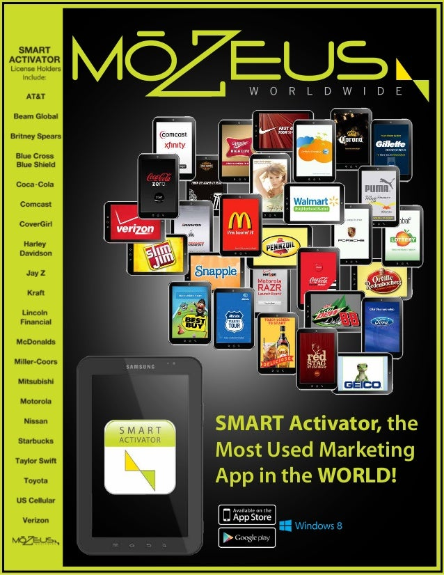 SMART Activator, theMost Used MarketingApp in the WORLD!