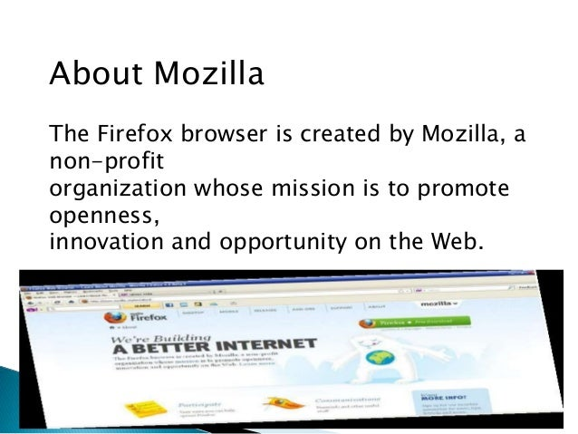 Mozila firefox The Internet Browser