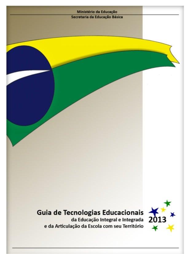 Guia com orientações sobre adoção de tecnologias no ensino.