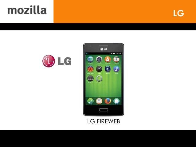 LG LG FIREWEB