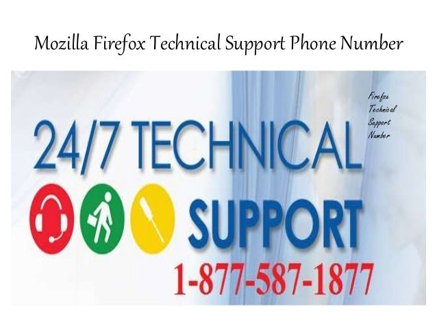 Mozilla Firefox Technical 1-877-587-1877 Support Phone Number