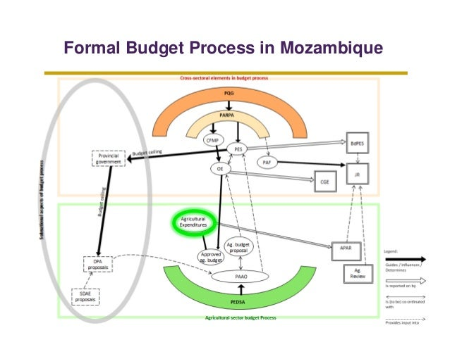 Formal Budget Process in Mozambique