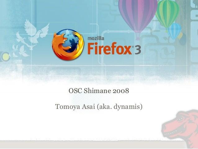 OSC Shimane 2008 Tomoya Asai (aka. dynamis)