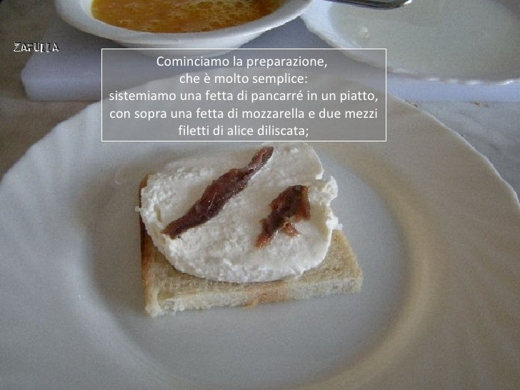 Cominciamo la preparazione,           che è molto semplice:sistemiamo una fetta di pancarré in un piatto,con sopra una fet...