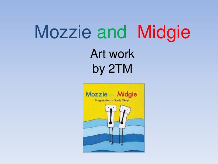 Mozzie and MidgieArt work by 2TM<br />