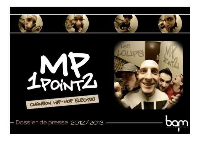 Mp1point2  - Dossier de presse