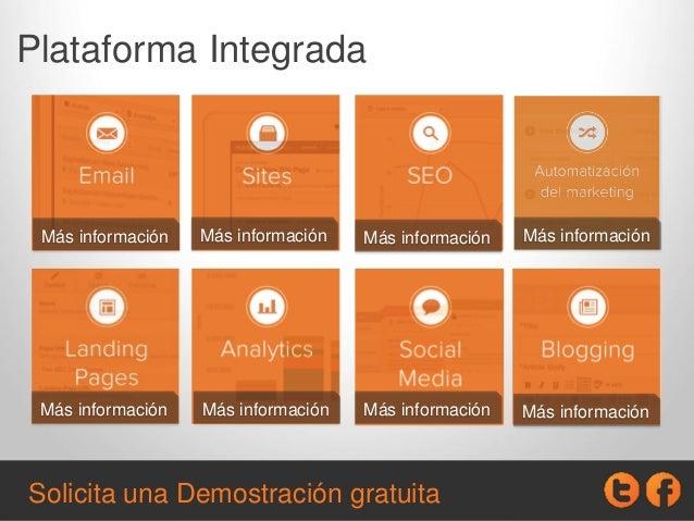 Plataforma Integrada Más información Más información Más información Más información Más información Más información Más i...