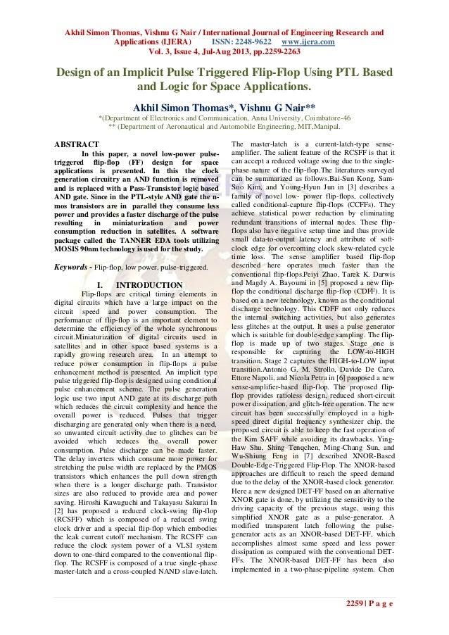 Akhil Simon Thomas, Vishnu G Nair / International Journal of Engineering Research and Applications (IJERA) ISSN: 2248-9622...