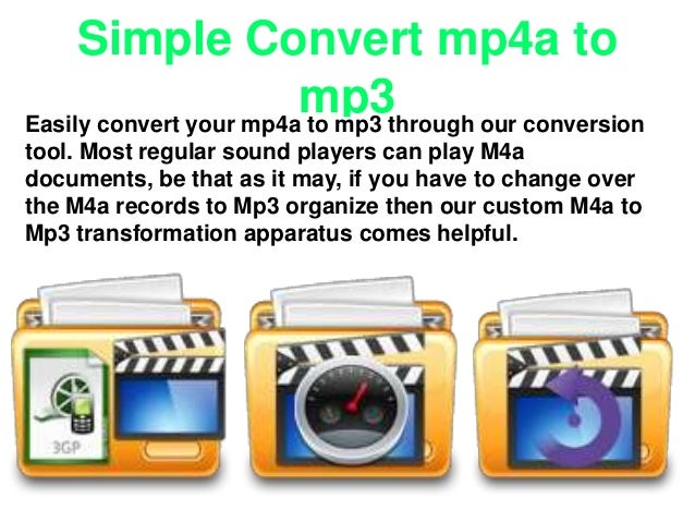 Easy Convert mp4 to mp3