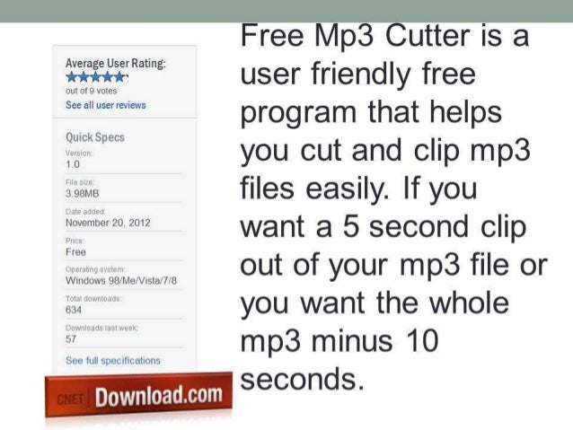 download free mp3 cutter for windows 10