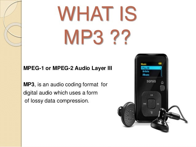 how to change mp3 to mpeg
