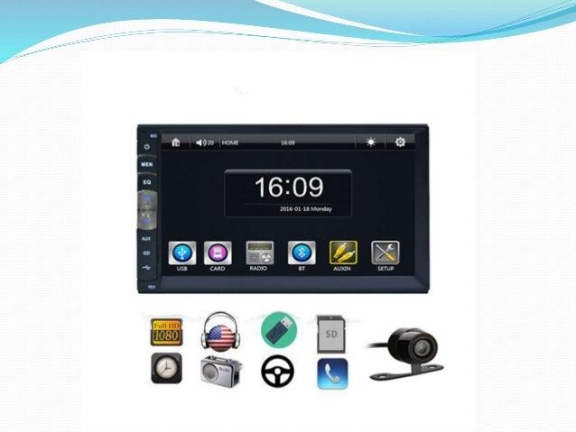 2 DIN 7018B 7Inch LCD HD Car In-Dash Capacitive Multi- Touch Screen B…